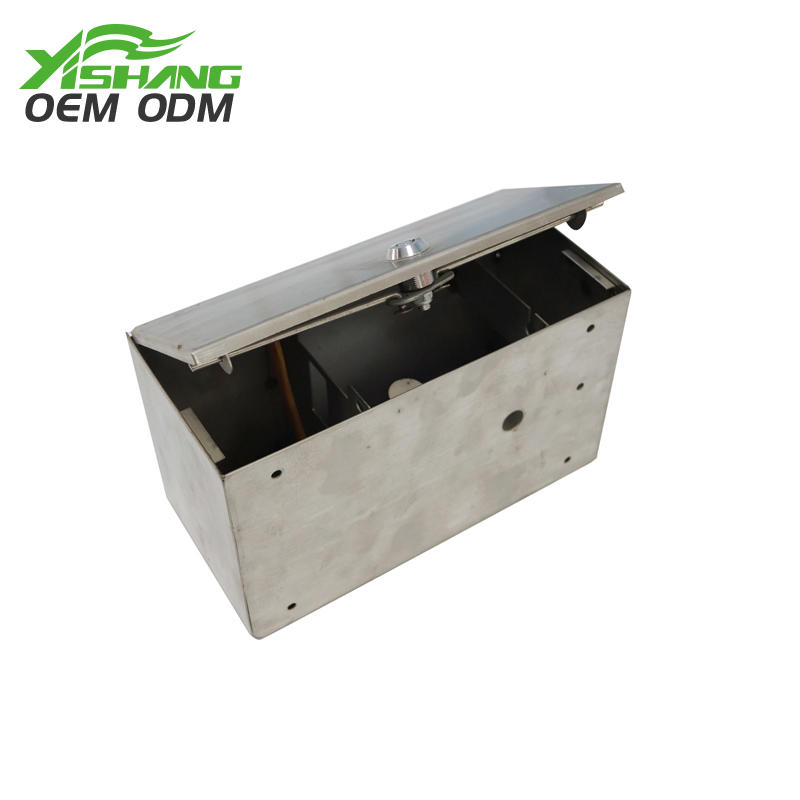 Custom Made Lockable Rectangle Sheet Metal Box