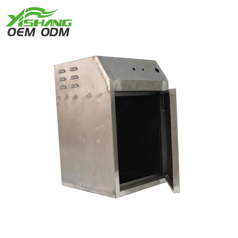 Custom Metal Electronics Case with Lockable Door