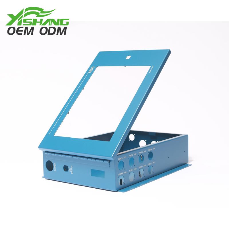 YISHANG -Best Custom Metal Electronics Case with Lockable Door on Yishang-2