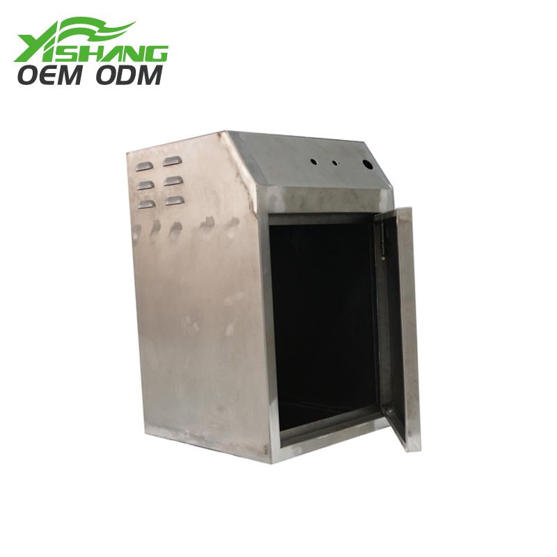 YISHANG -Best Custom Metal Electronics Case with Lockable Door on Yishang