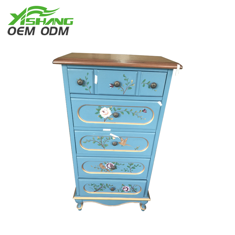 YISHANG -Oem Odm European Style Wooden Decorative Cabinet