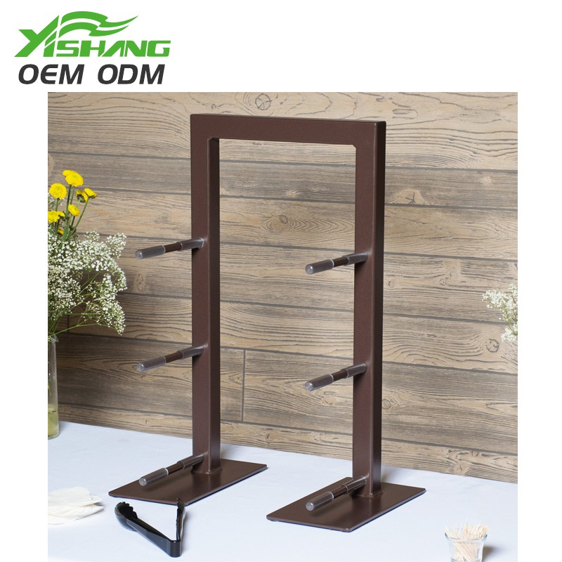 YISHANG -Rotating Display Stand | Custom 3 Tiers Wooden Display Stand-1