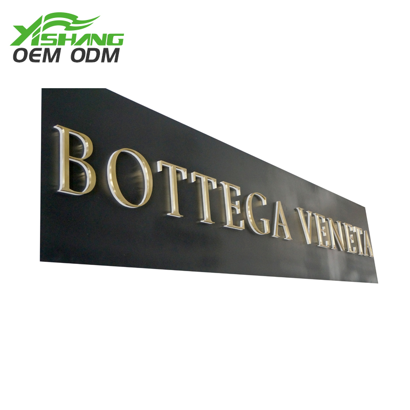 YISHANG -Metal Letters Custom Company And Store Name Metal Letters