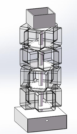 YISHANG -Rotating Standing Shoe Store Displays Shoe Display Racks-Yishang-7