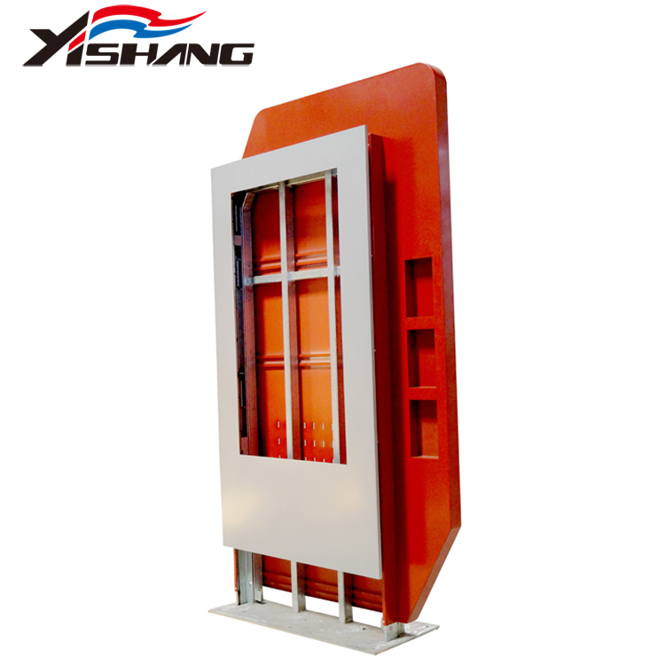 YISHANG -Custom Large Airport Led Metal Light Box Sign -Yishang