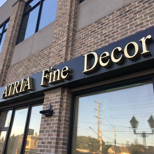 Custom Gold Metal Stainless Steel Letters Sign