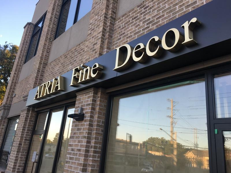 Custom Metal Stainless Steel Letters Sign from Canada