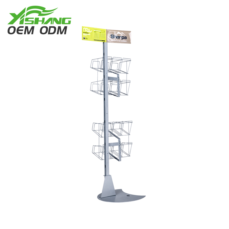 YISHANG -Custom Metal Wire Basket Display Stand - Yishang Display