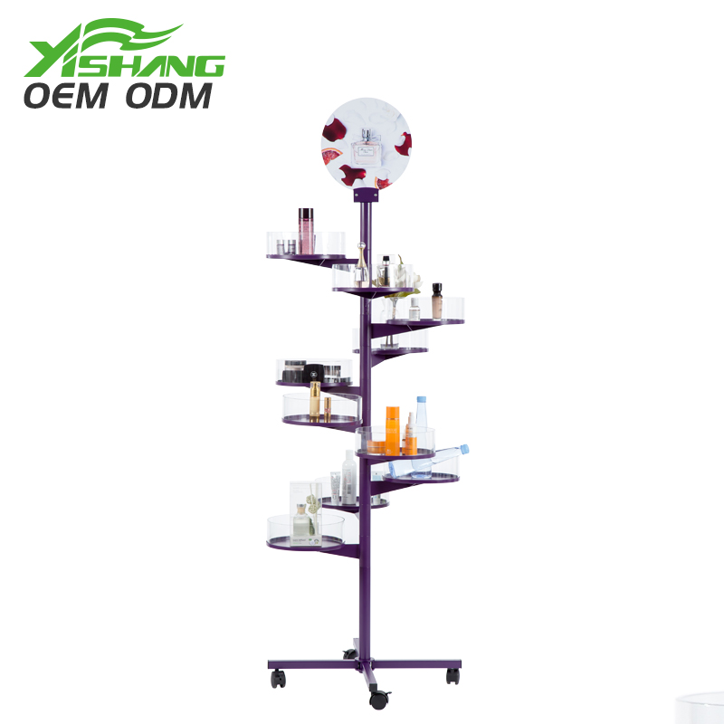 YISHANG -Rotating Candy Cookies Metal Display Rack For Store-2