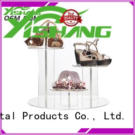 YISHANG rotating shoe display shelves manufacturer for store