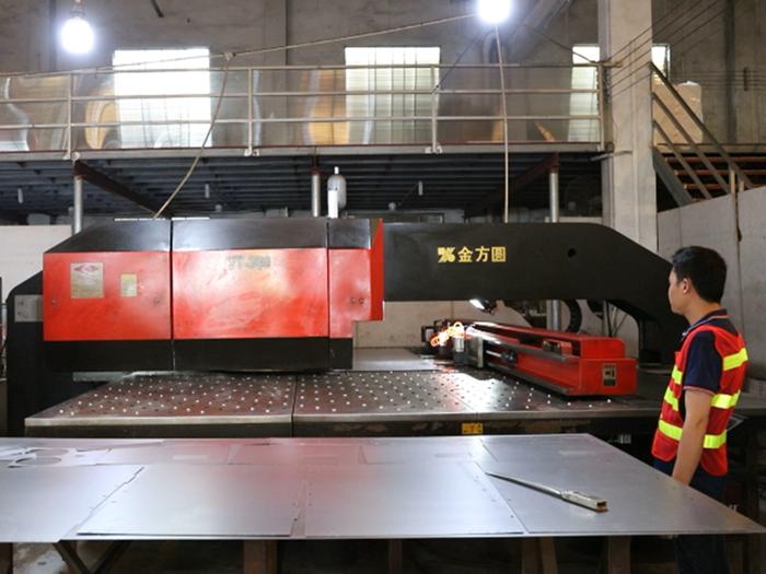 Sheet Metal CNC Punching Process from YISHANG