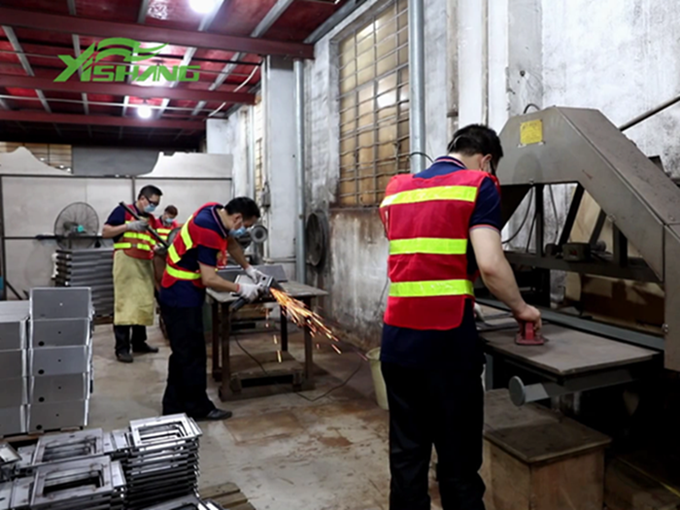 Sheet Metal Stainless Steel Grinding Process from Yishang