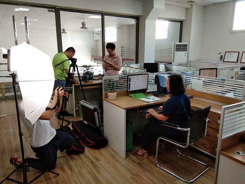 YISHANG -Showroom And Sales Team Picture Shooting-1