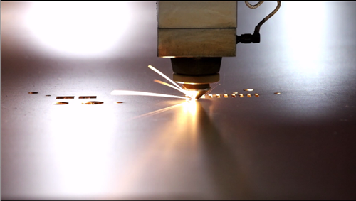 Sheet Metal Fabrication - Laser Cutting Metal Plate