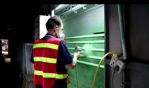 Sheet Metal Fabrication - Metal Powder Coating
