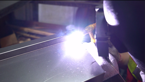 Sheet Metal Fabrication - Metal Pull Welding (Dense Welding)