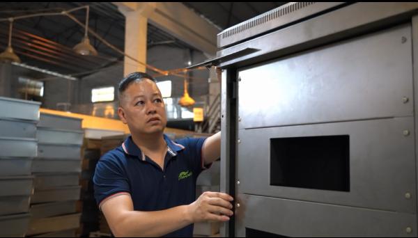 Sheet Metal Fabrication Factory - Inspect Angle for Custom Metal Enclosure Before Powder Coating