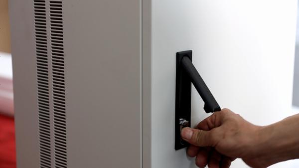Custom Sheet Metal Fabrication - Inspect Door Lock for Metal Case
