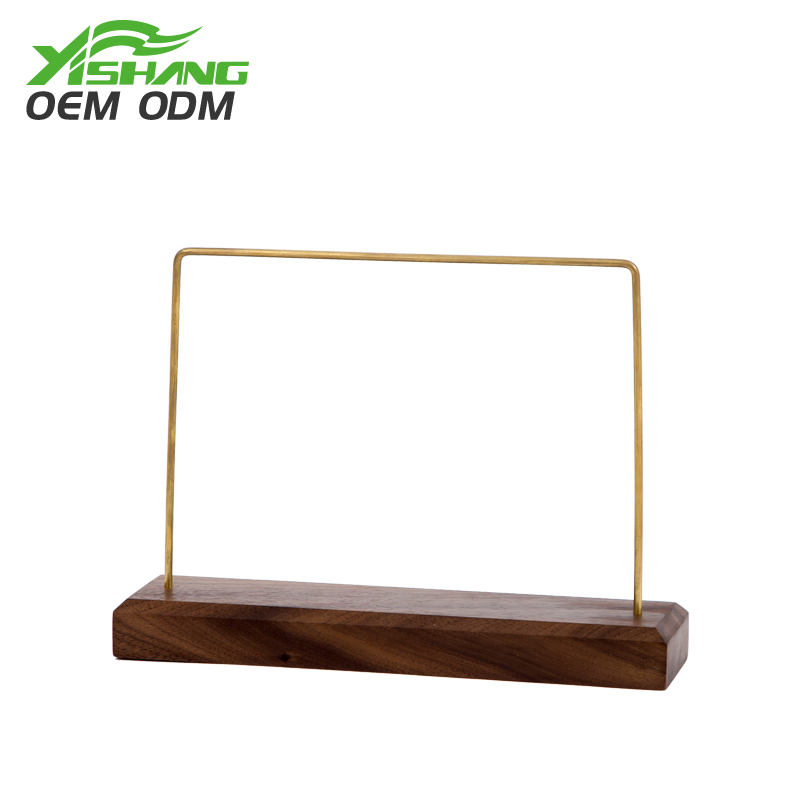 YISHANG -Custom Rustic Wooden Jewelry Bracelet Display Stand Supplier