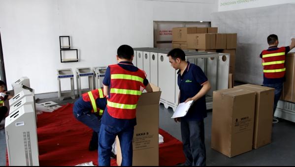 Custom Sheet Metal Fabrication Company - Packing of Metal Electronics Enclosuure-YISHANG
