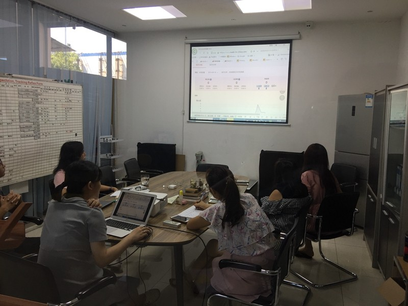 YISHANG -Sales Department Training And Studying, Zhongshan Yishang Metal Products Co
