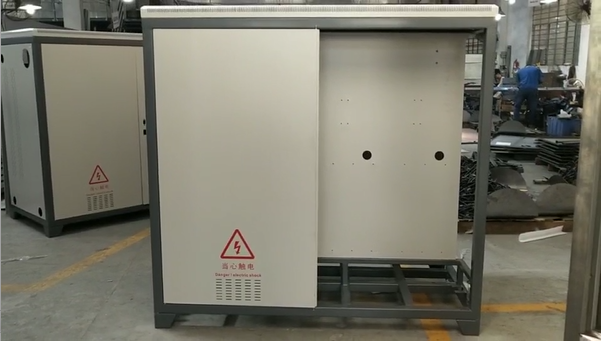 Custom Metal Control Cabinet From China Metal Fabrication Company