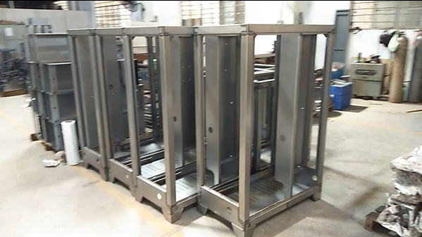 Custom Sheet Metal Enclosure & Metal Frame From China Metal Processing Company