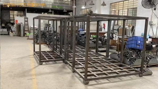 Metal Fabrication - Large Metal Frame For Control Cabinet-YISHANG