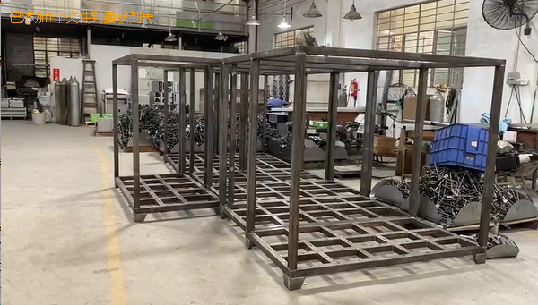Metal Fabrication - Large Metal Frame For Control Cabinet