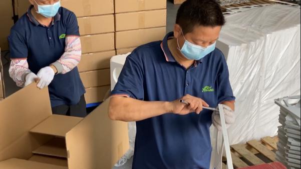 YISHANG-Sheet Metal Manufacturing - Metal Light Box Installing