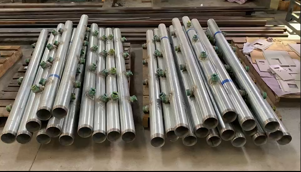 Sheet Metal Manufacturing - Metal Water Pipe