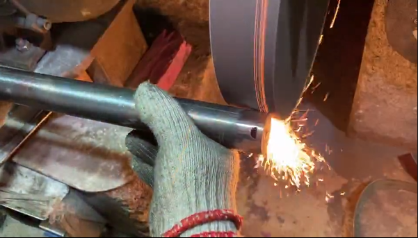 Sheet Metal Manufacturing - Tube Grinding After Welding