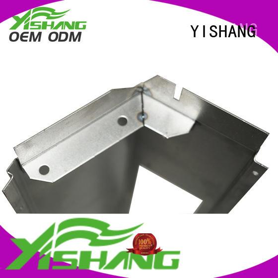 sheet metal parts metal gold YISHANG company
