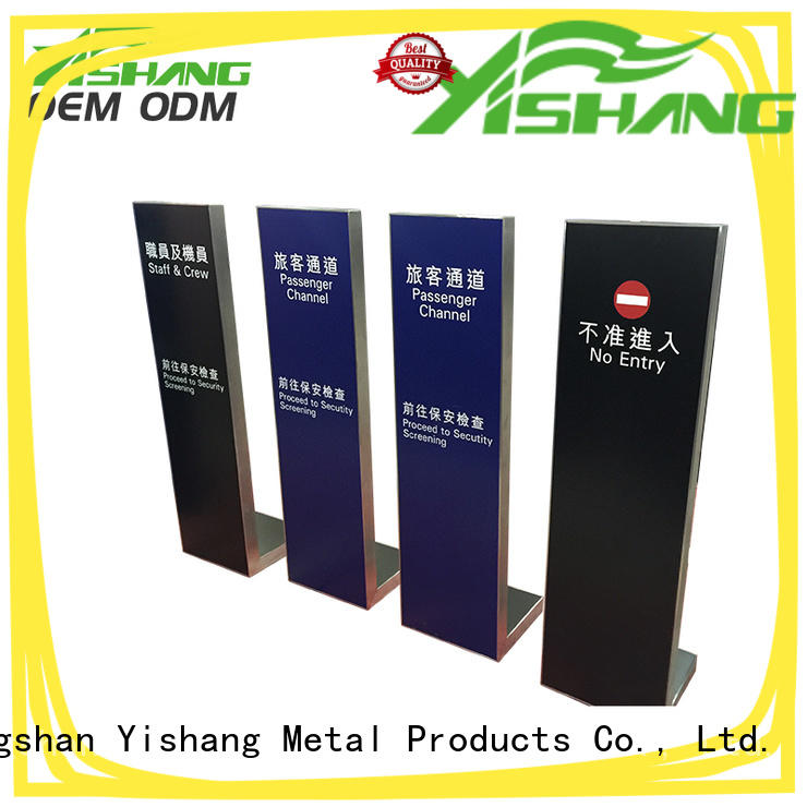 YISHANG holders sign holder online for signage companies