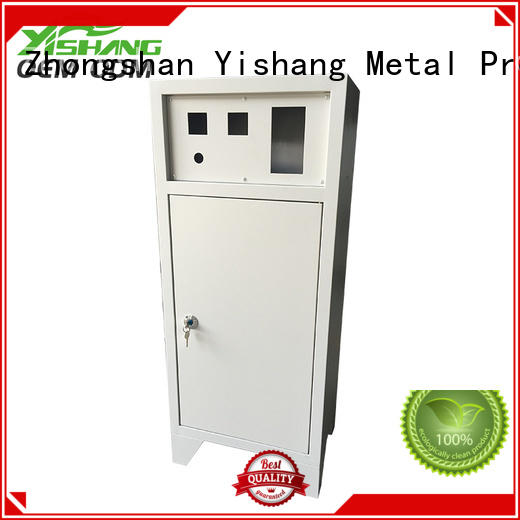 rectangle metal enclosure donation for airport