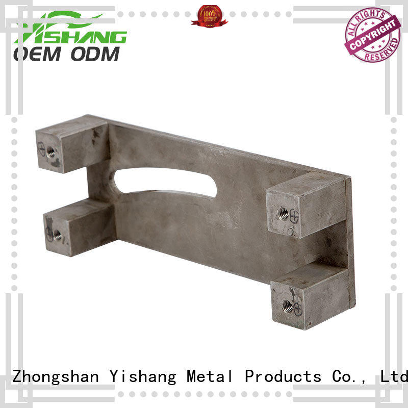 fabrication gold frames welding metal parts YISHANG