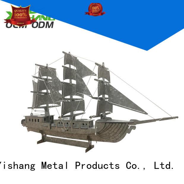 round shape metal metal wall organizer YISHANG Brand