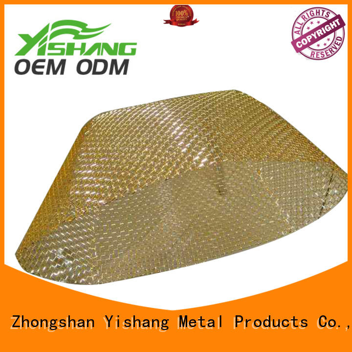 YISHANG Brand steel fabrication metal parts manufacture