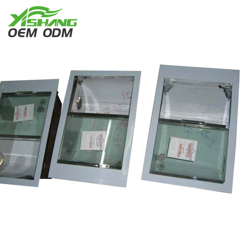 YISHANG -Aluminum Enclosure Custom Stainless Steel Box Fabrication With Glass Lid-1