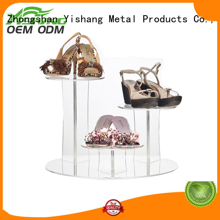 superior quality shoe display shelves manufacturer for store YISHANG