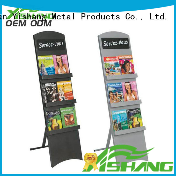YISHANG tiers book display with wheels for sale