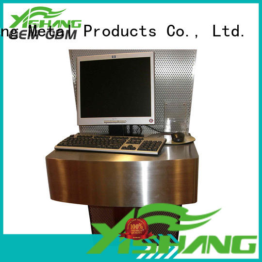 gold metal parts fabrication YISHANG company