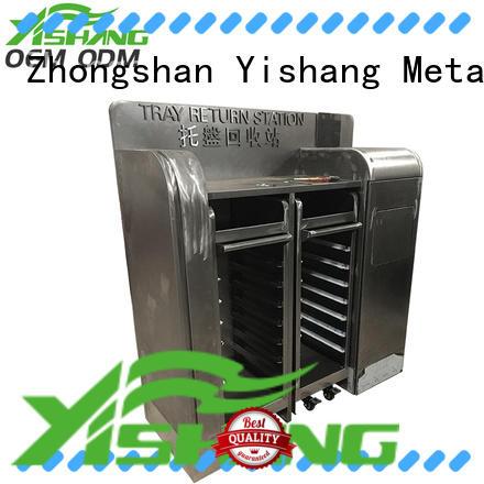 aluminum enclosure on wheels for airport YISHANG