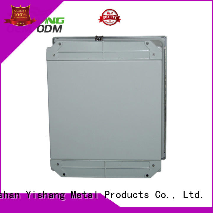 stainless steel enclosure sheet coated box YISHANG Brand company