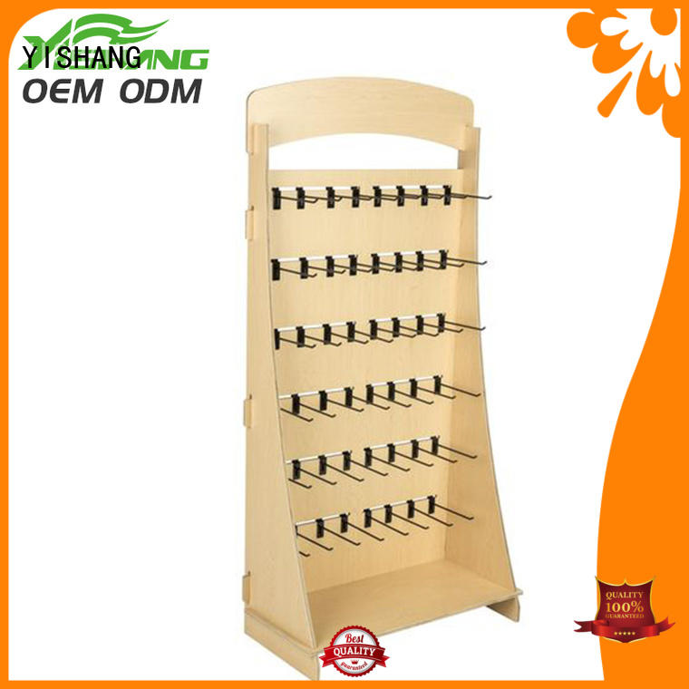 YISHANG wooden store display oem for shopping mall