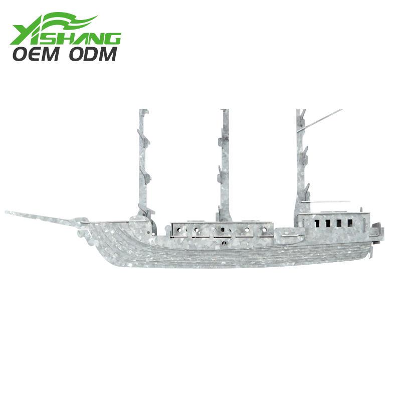 YISHANG -Diy Galvanized Metal Pirate Ship Decor Supplier On Yishang-2