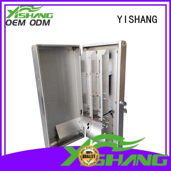 YISHANG Brand sheet large powder custom stainless steel enclosure