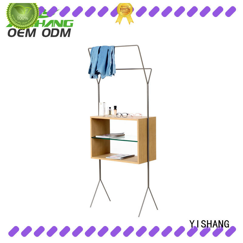 cloth clothing display racks supplier for shopping mall