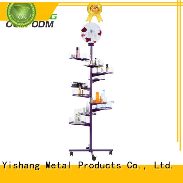 YISHANG makeup stand acrylic for beauty store