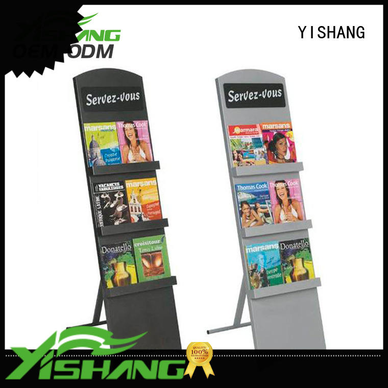 book display stand for book store YISHANG